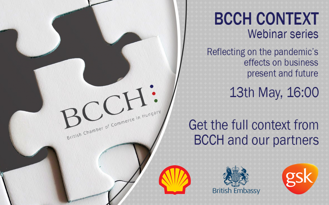 BCCH Context Webinar with HMA Iain Lindsay, Shell & GSK