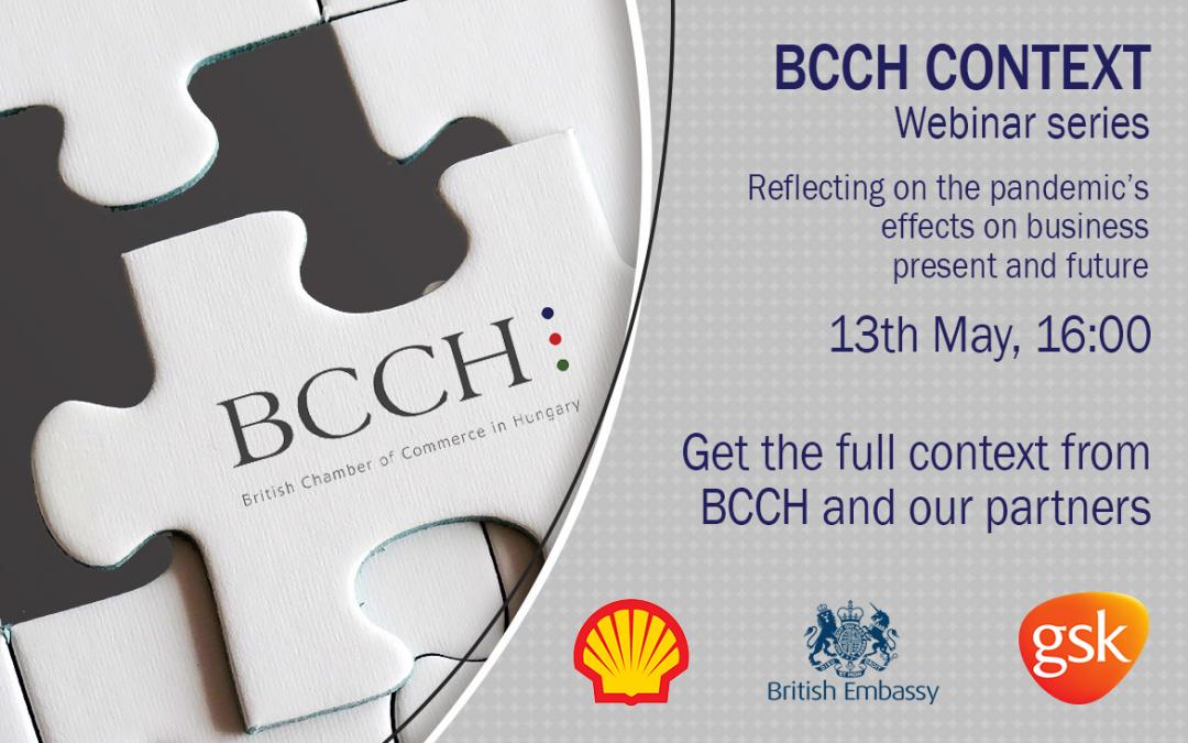BCCH Context Webinar with HMA Iain Lindsay, Shell & GSK