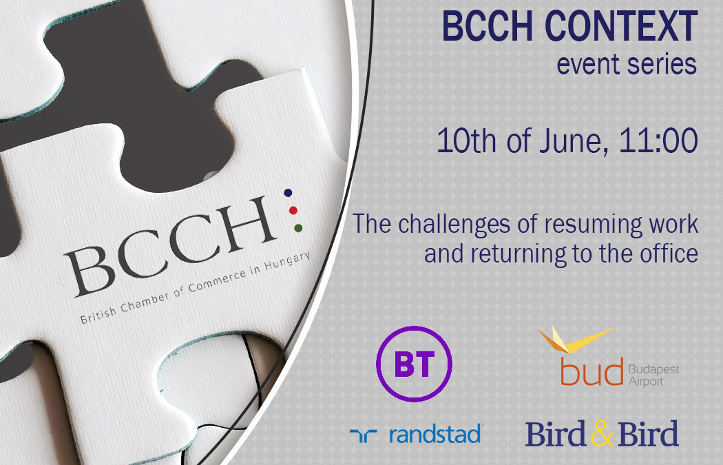 BCCH Context Panel – The challenges of resuming work and returning to the office – June 10