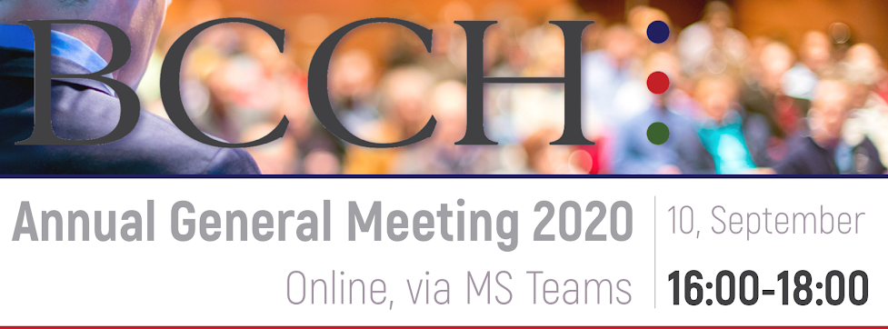 BCCH Annual General Meeting 2020