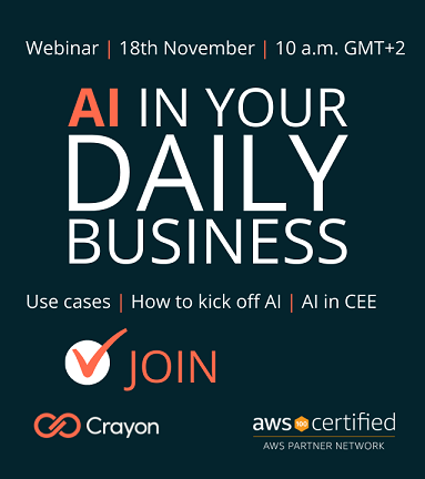 AI in Your Daily Business – Joint event