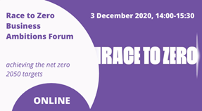 Businesses for Race to Zero: Achieving the net zero 2050 targets
