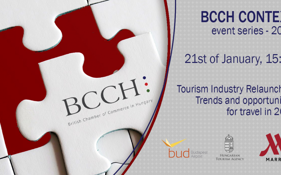 Tourism Industry Relaunched – Panel for 2021's first Context event
