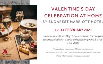 Marriott Budapest's Valentine's Day Offer