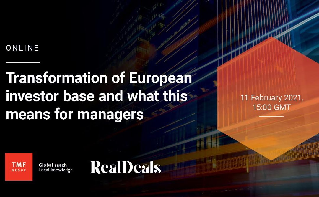 TMF Group Online Event – Transformation of the European Investor Base