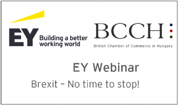 BCCH & EY Webinar / Brexit – No Time to Stop!